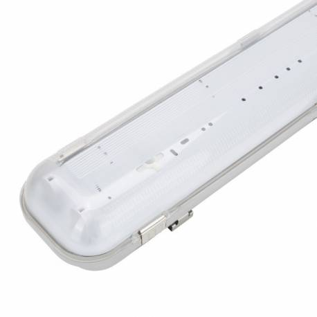 Pantalla estanca para tubos LED 2x1200mm