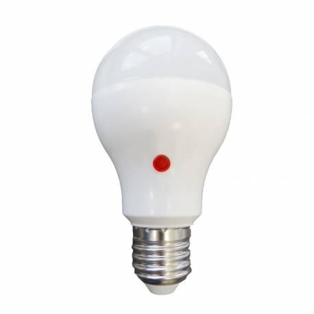 Bombilla standard con sensor LED 10W E27 Luz Cálida/Fría