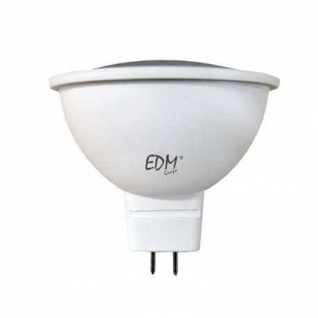 LAMPARA DICROICA MR16 12V SMD 5W CALIDA/FRÍA EDM