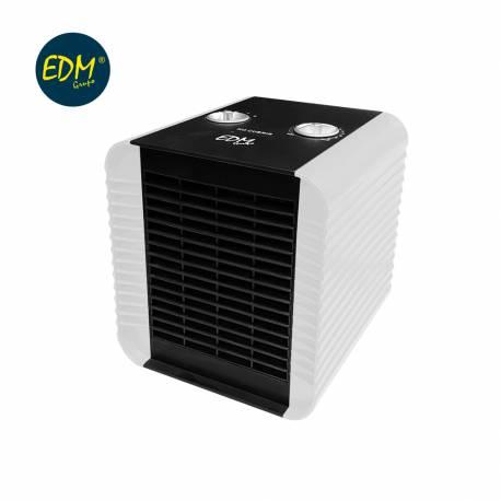 Calefactor compacto 750-1500w blanco edm