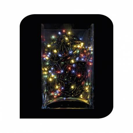 Mini-light 100 luces multifuncion 8 m multicolor edm (uso interior)