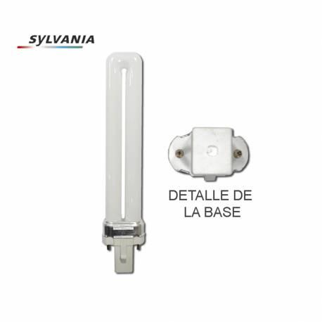 """Bombilla sa-lynx-s 9w bl355 g23 slv50 (manicura) """"sylvania"""""""