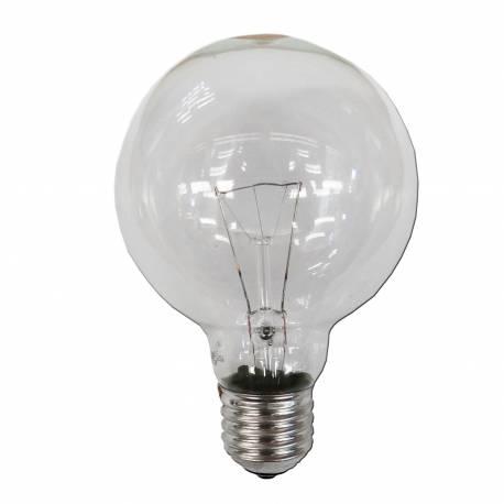 Bombilla globo transparente 100w ø 95mm e-27 (solo uso industrial)