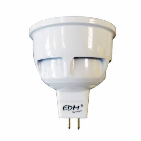 Lampara Bombilla LED MR16 12V 7W Blanco Cálido / Frío