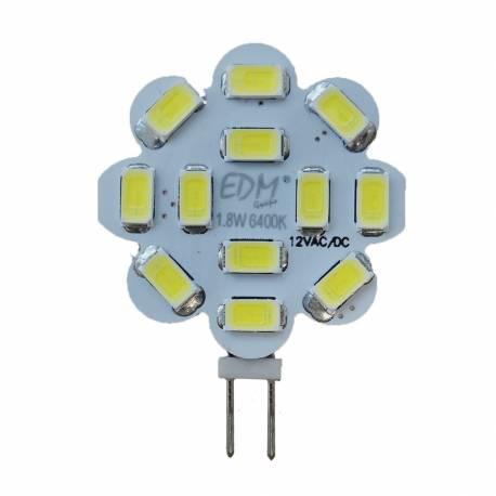 Lampara Bombilla LED G4 12V 1,8W