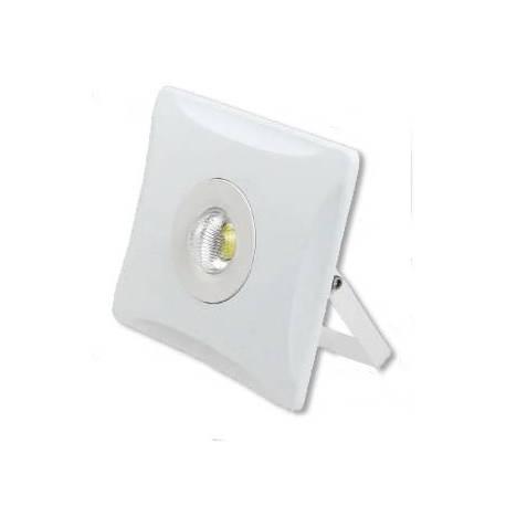 Proyector LED exterior 10W Quadro 600Lm Blanco
