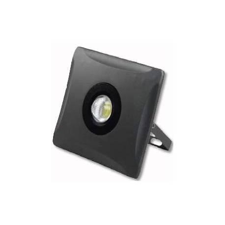 Proyector LED exterior 10W Quadro 600Lm Negro