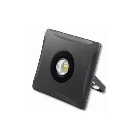 Foco Proyector LED Quadro 50W / 110º / IP65 / 3.500Lm / Negro