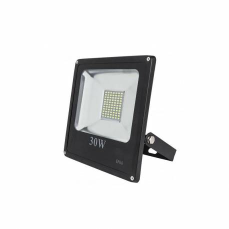 Proyector LED exterior 30W SMD Negro 2.400Lm