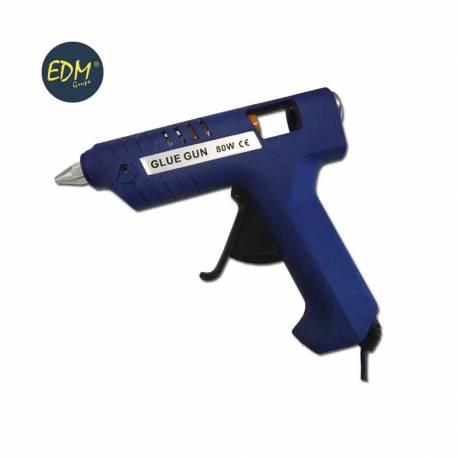 Pistola de adhesivo en caliente 80w. edm