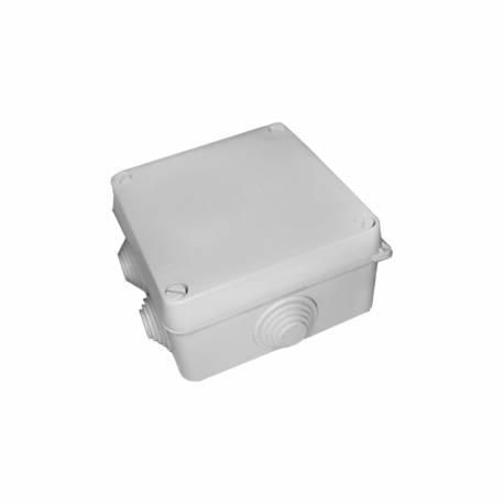Caja estanca cuadrada 100x100x55 con tornillos