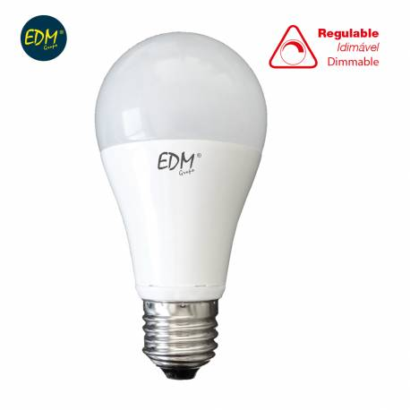 LAMPARA BOMBILLA STANDARD LED REGULABLE 10W 810LM