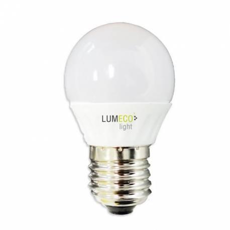 Lampara Bombilla Esferica LED 5W E27 LUMECO