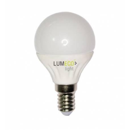 Lampara Bombilla Esferica LED 5W E14 LUMECO