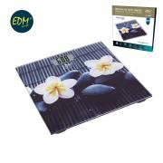 Bascula baño digital modelo flor zen max. 150kg edm