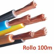 Cable electrico libre de halogenos flexible 6mm - rollo 100m
