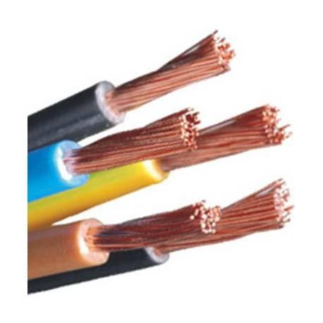 Cable electrico libre de halogenos flexible 10mm - corte por metro