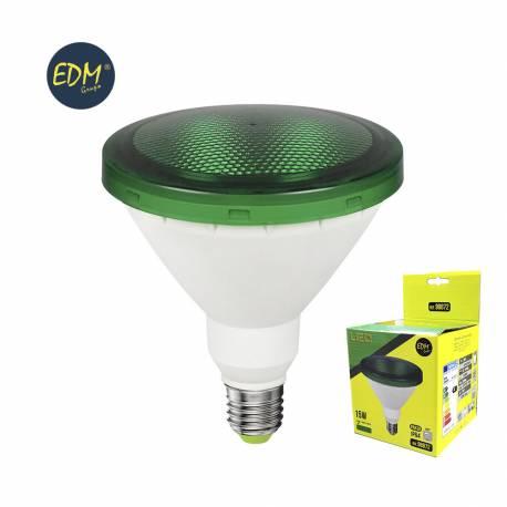 LAMPARA LED PAR38 COLORES 15W E27 1200LM IP64 EXTERIOR/INTERIOR