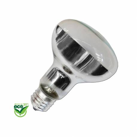 "Bombilla halogena reflectora r80 ""energy saver"" e27 42w (equ. 60w)"