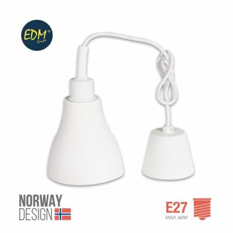 LAMPARA COLGANTE DE SILICONA NORWAY DESING E27