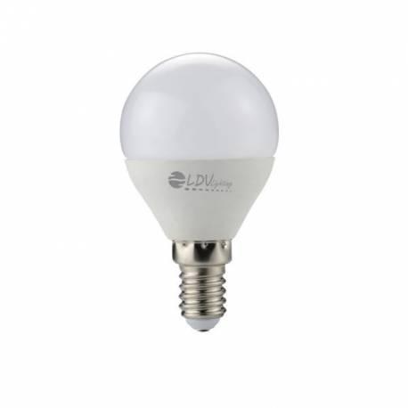 Bombilla Esferica LED 6W E14