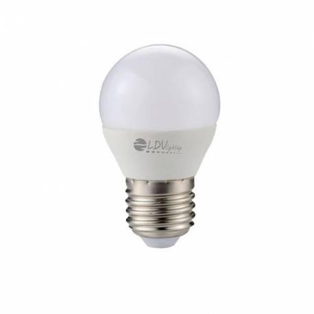 Bombilla Esferica LED 6W E27