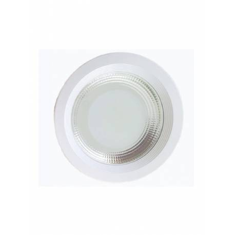Downlight LED 30W COB Redondo Empotrar Blanco