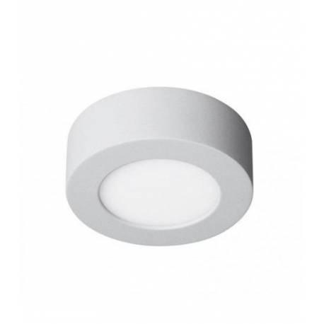 Downlight LED Regulable 6W Redondo Superficie Blanco