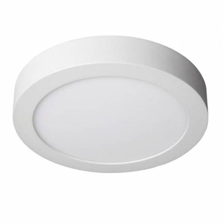 Downlight LED Regulable 12W Superficie Redondo Blanco