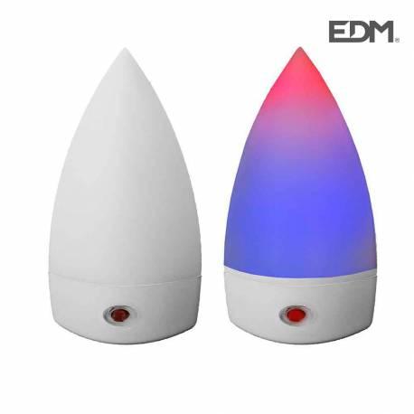 *ult. unidades* piloto noche con led multicolor sensor fotoelectrico