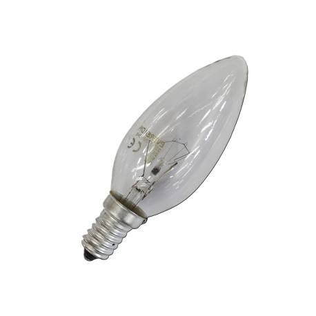 Bombilla vela clara 25w e14 (solo uso industrial)