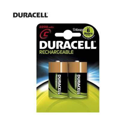 *ult.unidades*  pila recargable r-14 22oo mah (blister 2 pilas) duracell