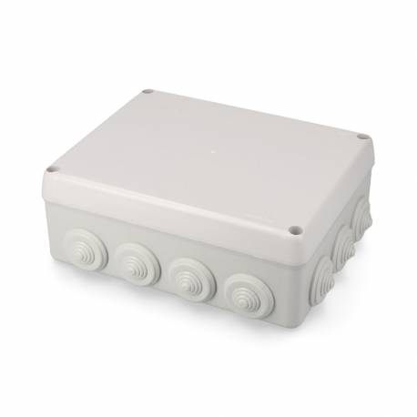 *ult.unidades* caja estanca rectangular 220x170x80mm con tornillos