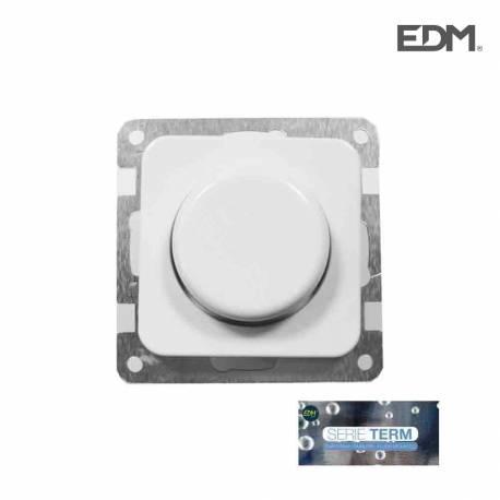 """Regulador 600w  empotrar  """"serie term"""" edm(bolsa blister)"""