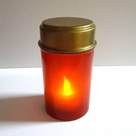 *ult.unidades* vela con luz led 12,5cm parpadeante (pilas 1x cr2032 incluida)