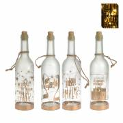 Botella decorativa led 30cm