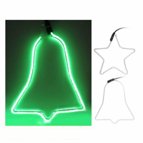 *ult. unidades*  figura tubo flexiled verde diseño surtidos