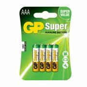 Pila gp alkalina lr03-b4 1,5v (blister 4un)