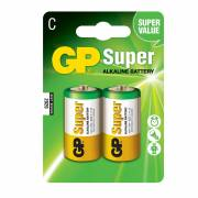 Pila gp alkalina lr14-b2 1,5v (blister 2un)