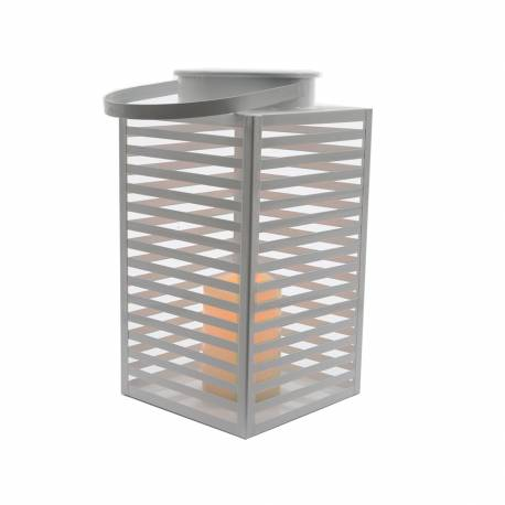 *ult.unidades*  lampara led metalica para exterior