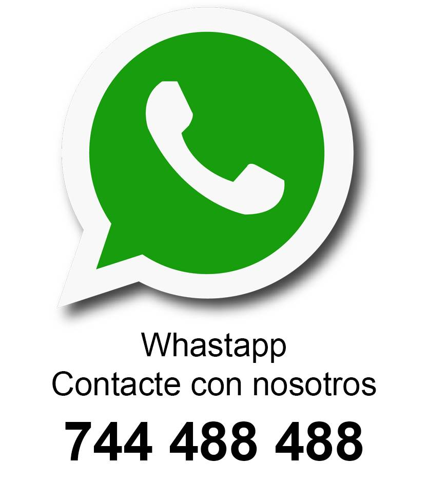 Contacte con nosotros por Whatsapp