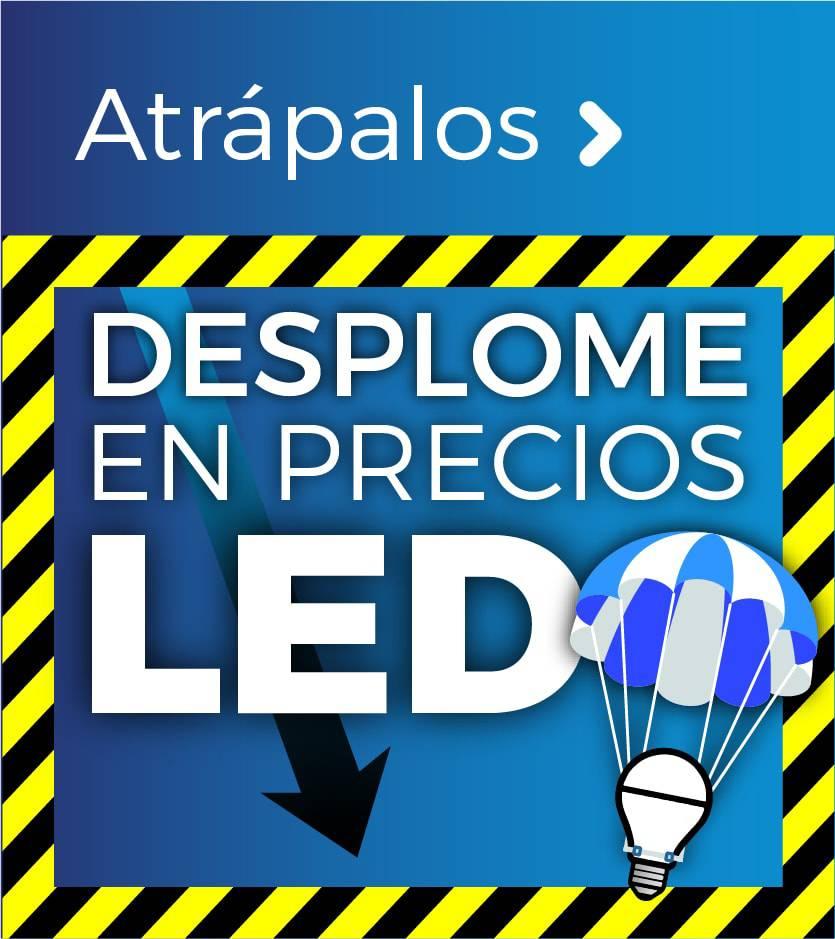 BAJADA DE PRECIOS EN LED